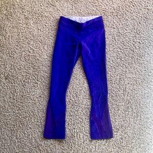 Lululemon purple run inspire crops 2